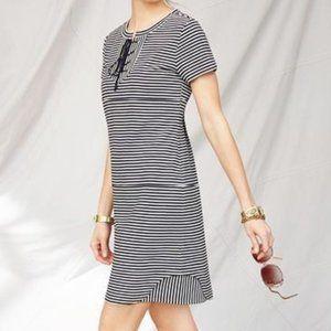 CAbi 5268 Captain Knit Nautical Striped Dress